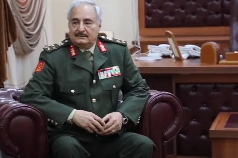 터키 외무부 : Haftar의 경우 협상 테이블에 자리가 없습니다