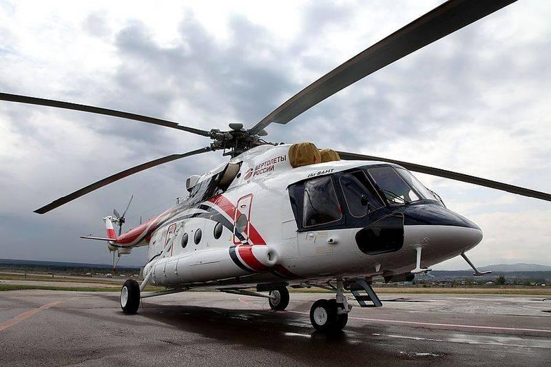 Mi-8AMT के आर्कटिक संस्करण का नागरिक उत्पादन शुरू किया गया