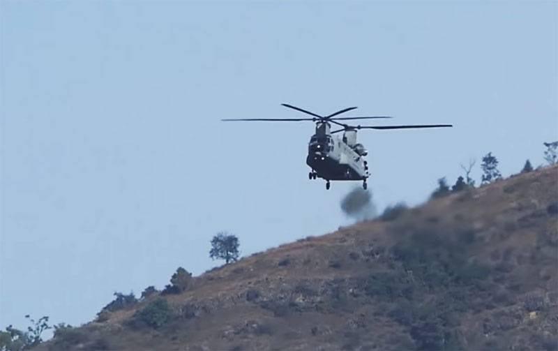 चीन के साथ भारत ने चिनूक और अपाचे हेलीकॉप्टरों को सीमा पर भेजा