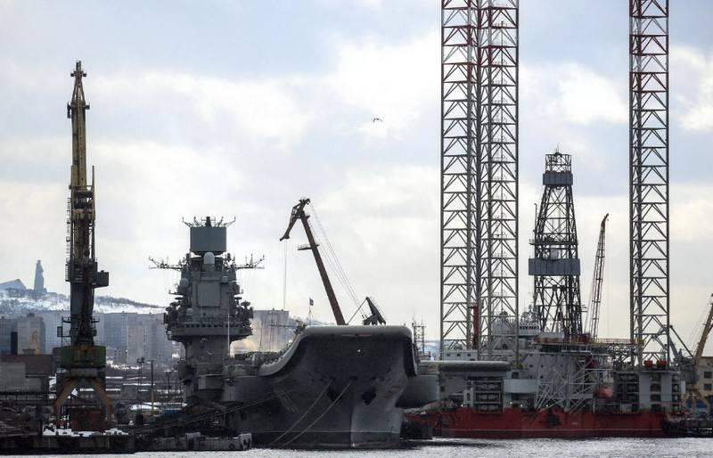 """Die Reparatur von """"Admiral Kusnezow"""" wird etwas mehr als eine Viertelmilliarde Rubel kosten"""