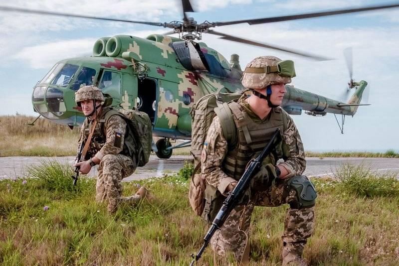 NATO規格のうち、XNUMXつの形式のみ:海軍の海軍演習はウクライナで行われました
