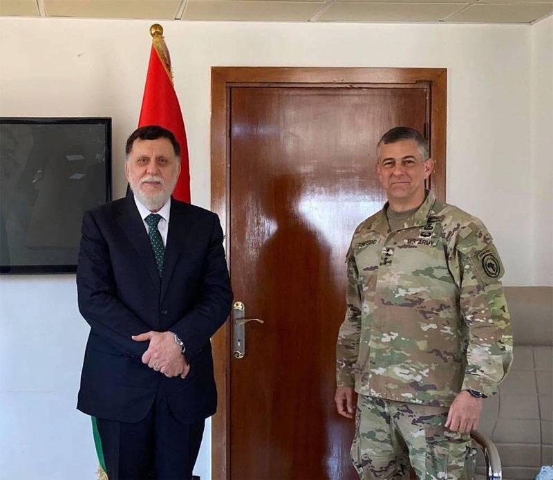 Arrivée d'une délégation militaire américaine en Libye: négociations d'Al-Jufrah-Syrte