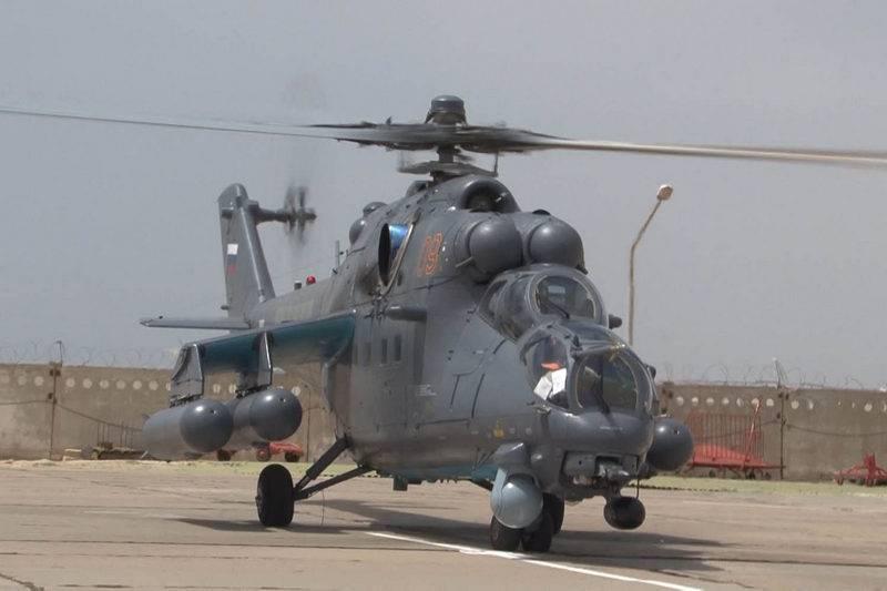 La Fuerza Aérea de Kazajstán se repone con nuevos helicópteros de ataque Mi-35M