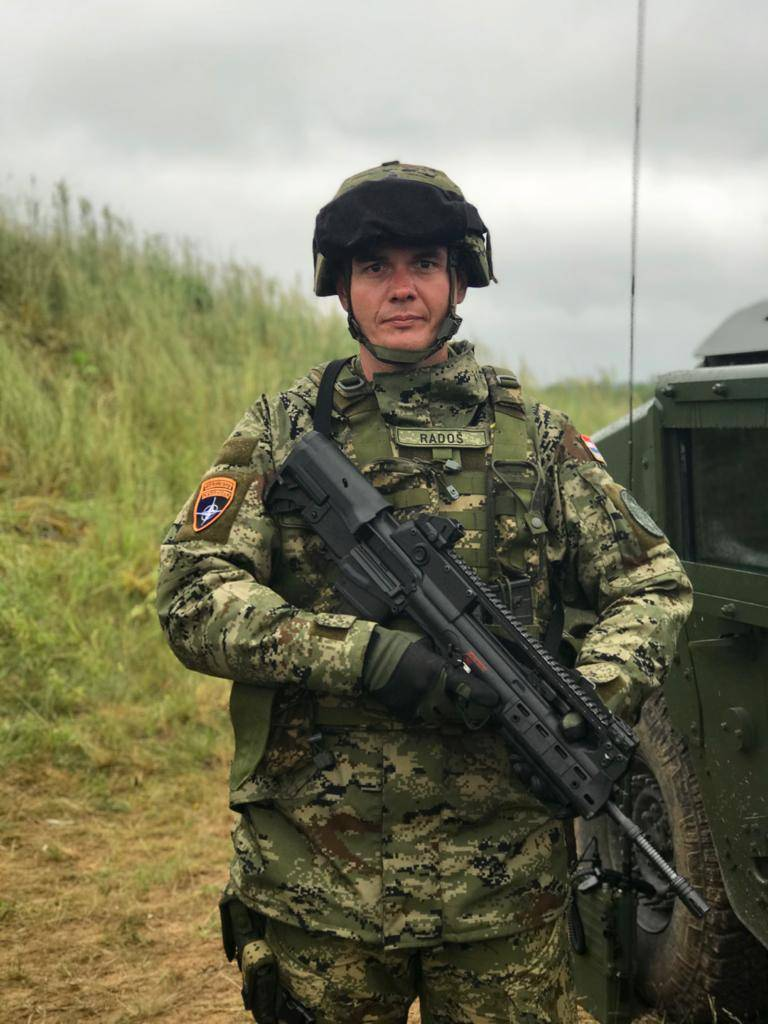 The network discusses the features of the Croatian military weapons in the NATO corps