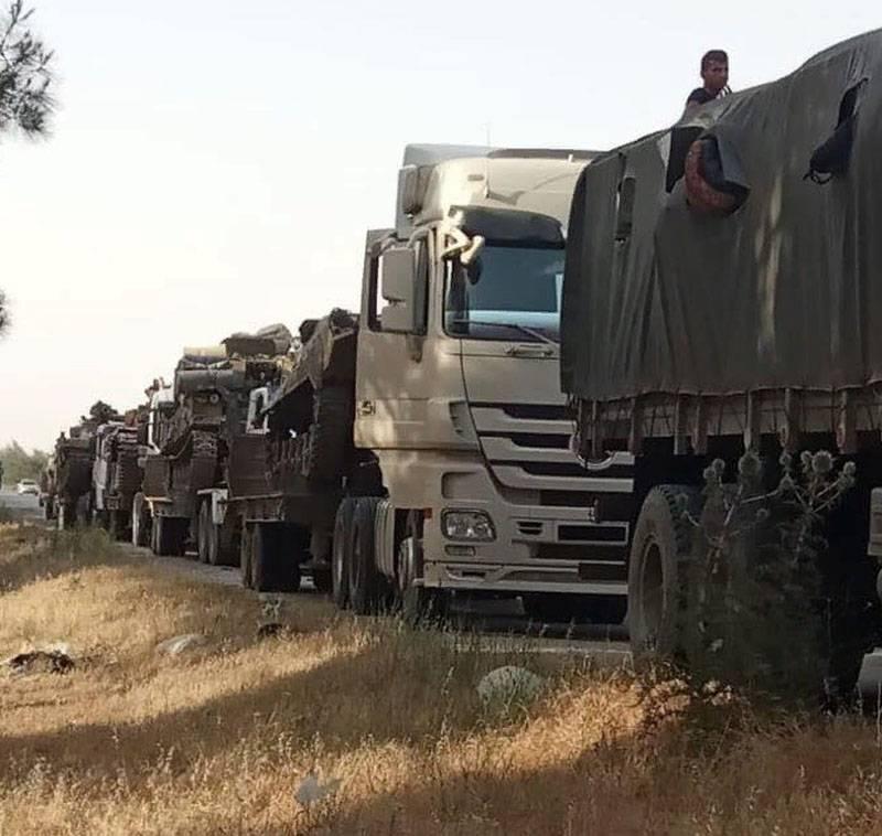 Nueva agravación en Siria: CAA atrae fuerzas y medios a la línea de demarcación en Idlib