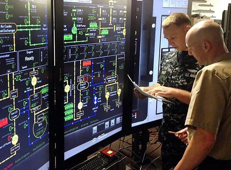 """美国的""""核武器""""和我们的""""成年病"""":美国和俄罗斯潜艇的""""内部美食"""""""