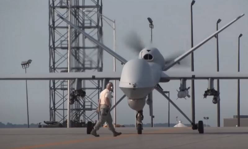 American drone drone MQ-9 Reaper got new features