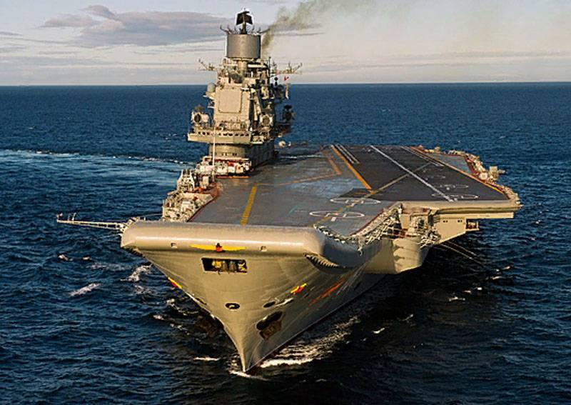 La portaerei Admiral Kuznetsov non fumerà più