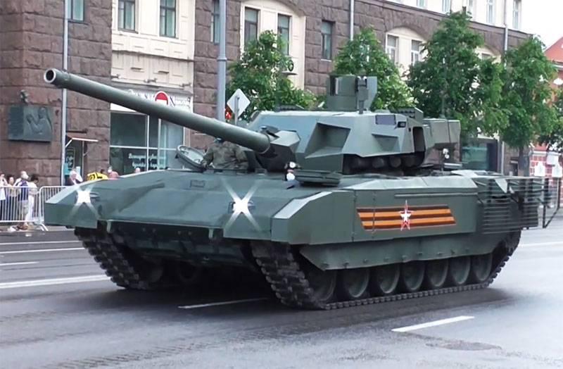 In Indien wird angenommen, dass der Kauf von T-14 Armata-Panzern einen Vorteil gegenüber China bietet