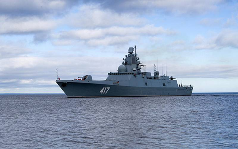 The frigate Admiral Gorshkov begins the second phase of testing the hypersonic Zircon