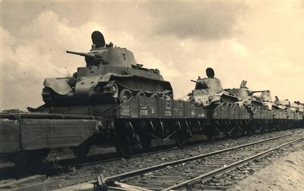 1941. दक्षिणी राज्य की सीमा पर व्यक्तिगत सेनाओं का एकाग्रता