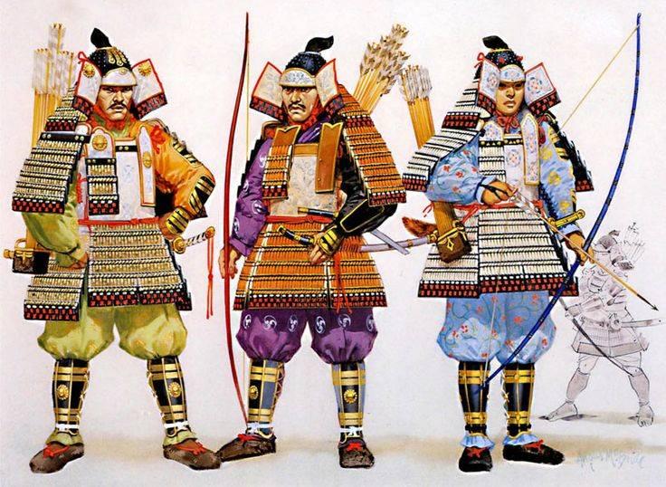 """Armatura per il """"povero samurai"""""""