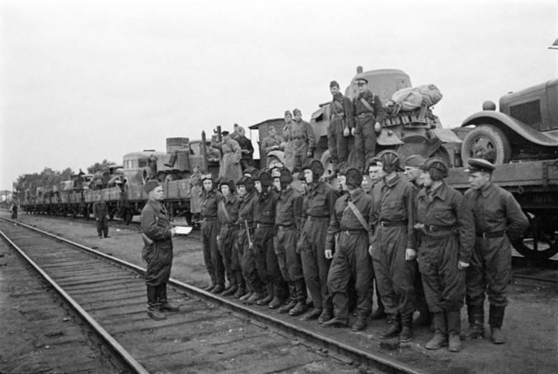 Подготовка к передислокации войск 16-й армии в 1941 году