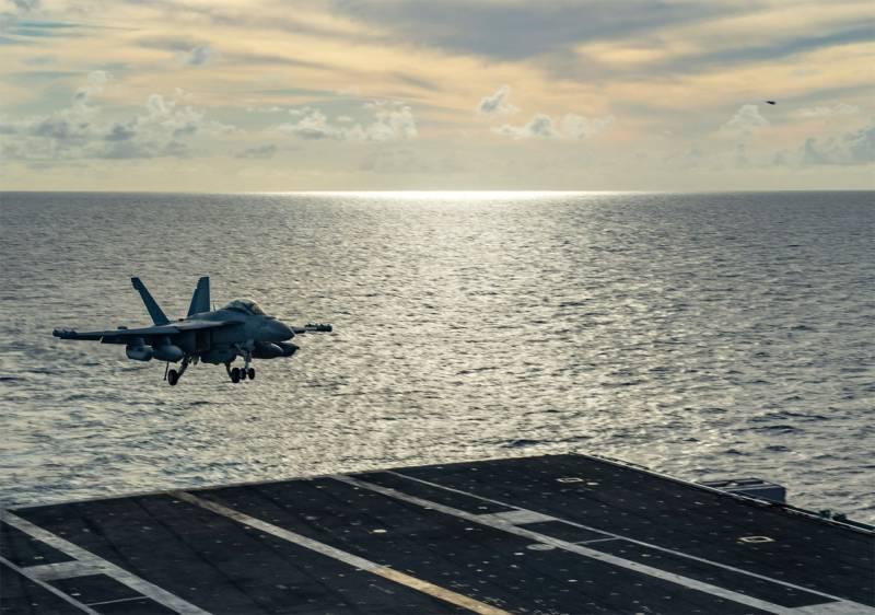 В ВМС США прокомментировали нахождение нескольких авианосцев в Филиппинском море