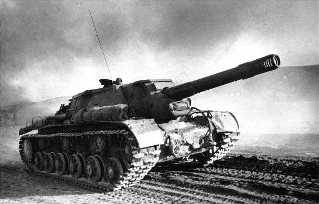 ソビエト自走砲システムSU-152およびISU-152の対戦車能力