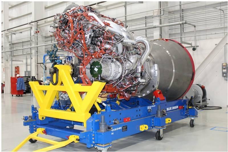 El primer motor de cohete entregado en los Estados Unidos para reemplazar el RD-180 ruso
