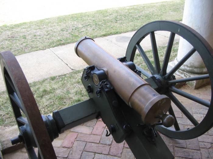 Пушки Тредегара и братьев Нобль