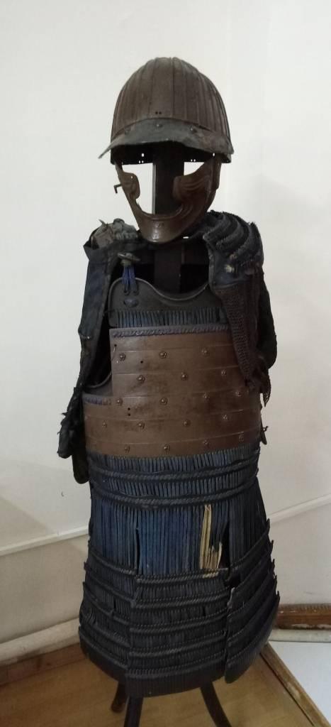 Samurai-Rüstung von ... Toropets!