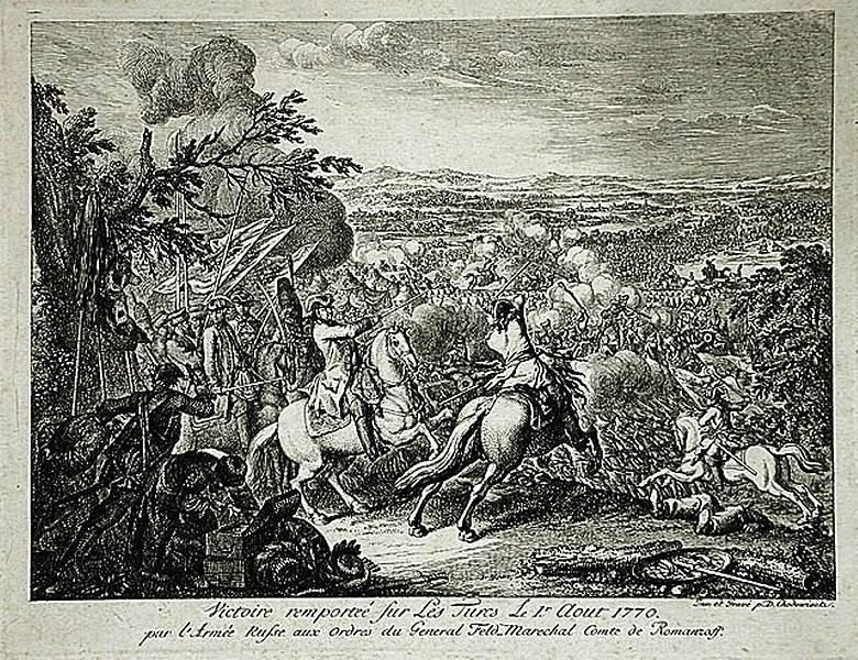 Rumyantsev liderliğindeki Rus ordusu, Larg Savaşı'nda Türkleri nasıl ezdi