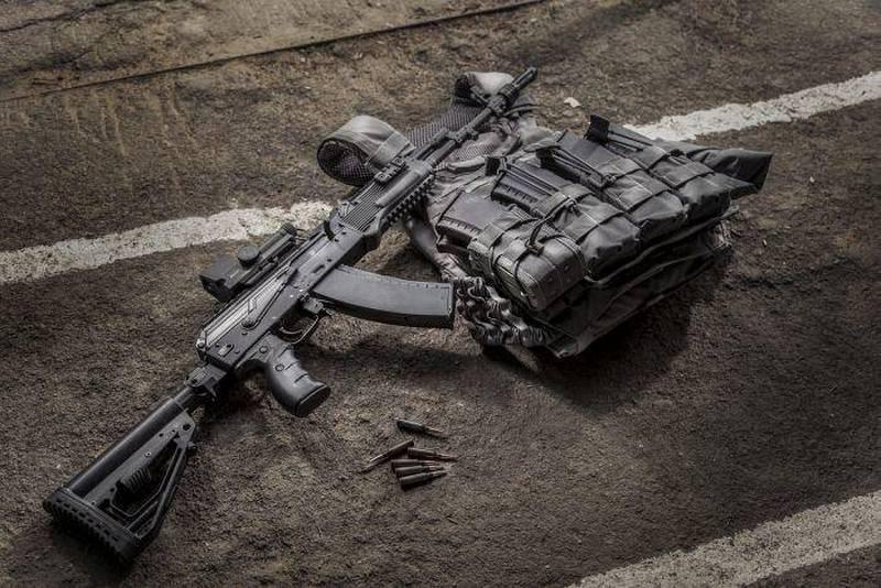 "The party of the modernized Kalashnikov AK-74M ""body kit"" entered the ZVO"