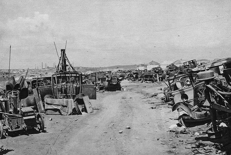 O que levou ao desastre da Crimeia em 1942