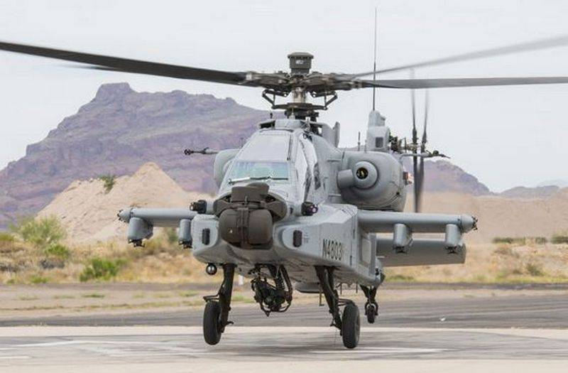 Indian Air Force Received Last Five AH-64E Apache Guardian Helicopters