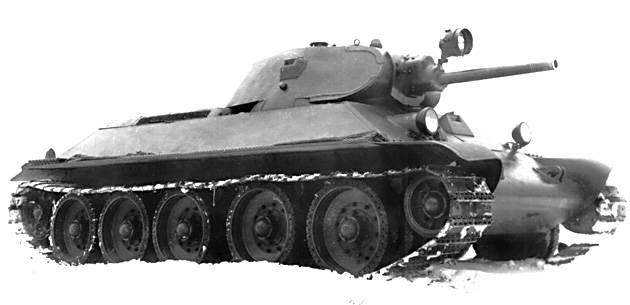 Find and hit: the evolution of the optical means of the T-34 tank