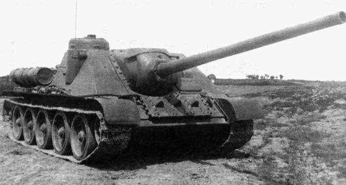 """Que armas autopropulsadas soviéticas eram """"erva de São João""""? Análise das capacidades anti-tanque de armas automotrizes domésticas"""