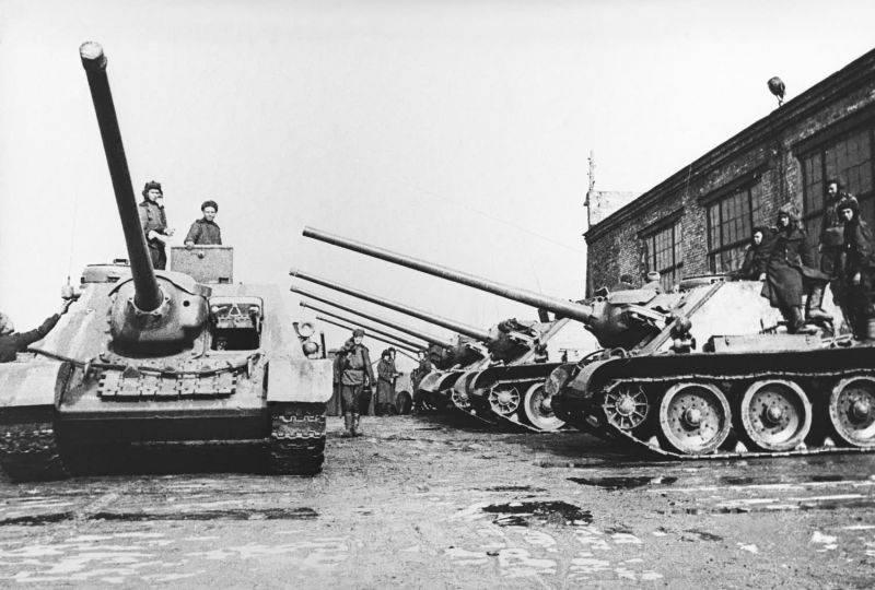 Какие советские САУ были «зверобоями»? Анализ противотанковых возможностей отечественных самоходок