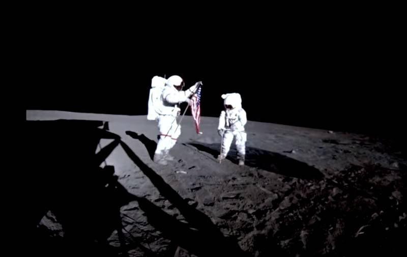 Gli Stati Uniti intendono esplorare la luna insieme al Giappone