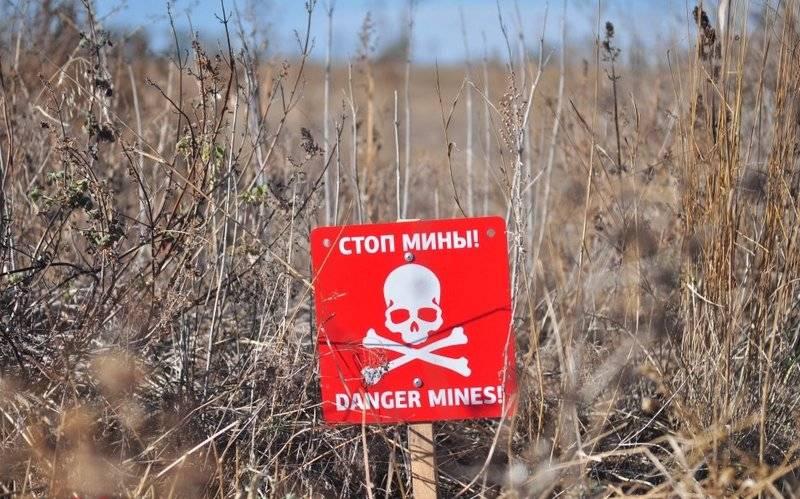 APU truck blown up on Ukrainian anti-tank mine