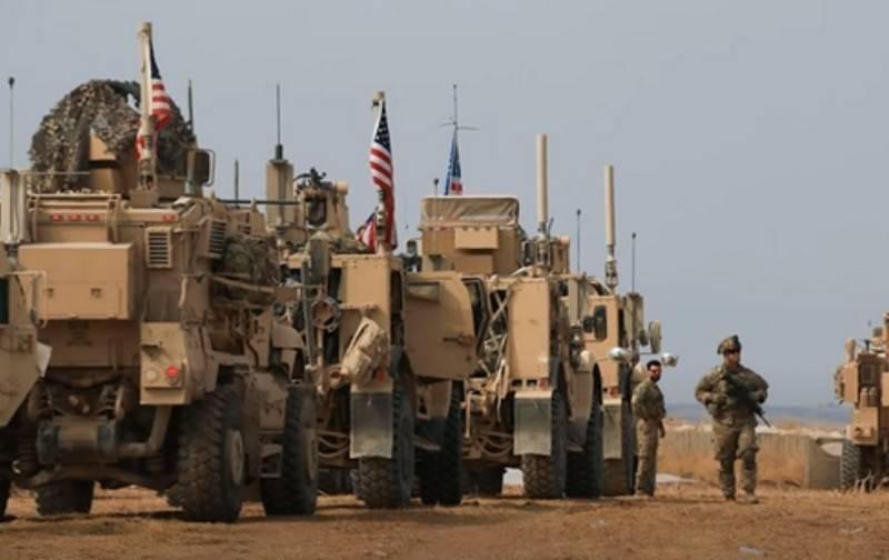 En Irak, desconocidos atacaron la columna de suministros de una base militar estadounidense