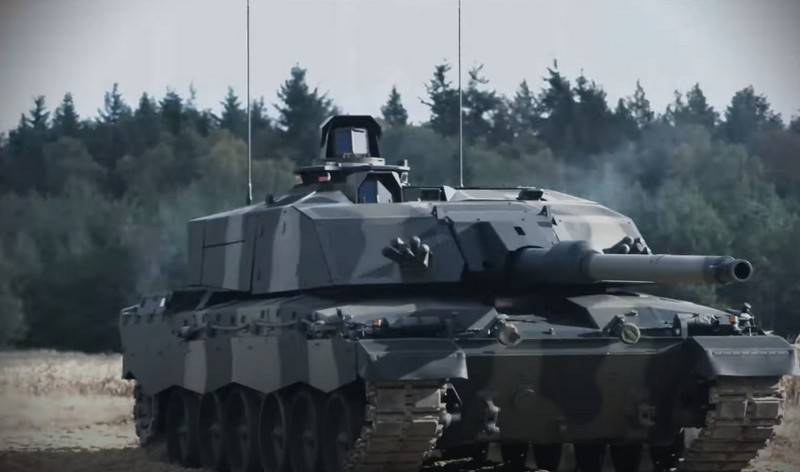 Rheinmetall showed its version of the modernization of the British MBT Challenger 2