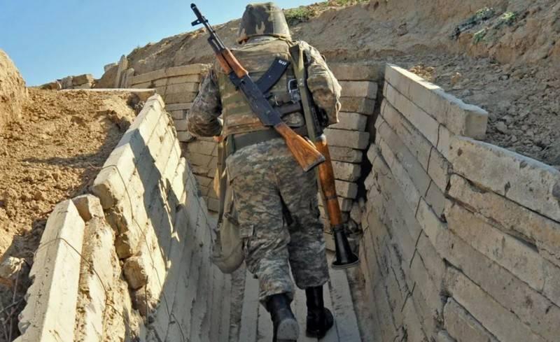Choque tuvo lugar en la frontera entre Armenia y Azerbaiyán