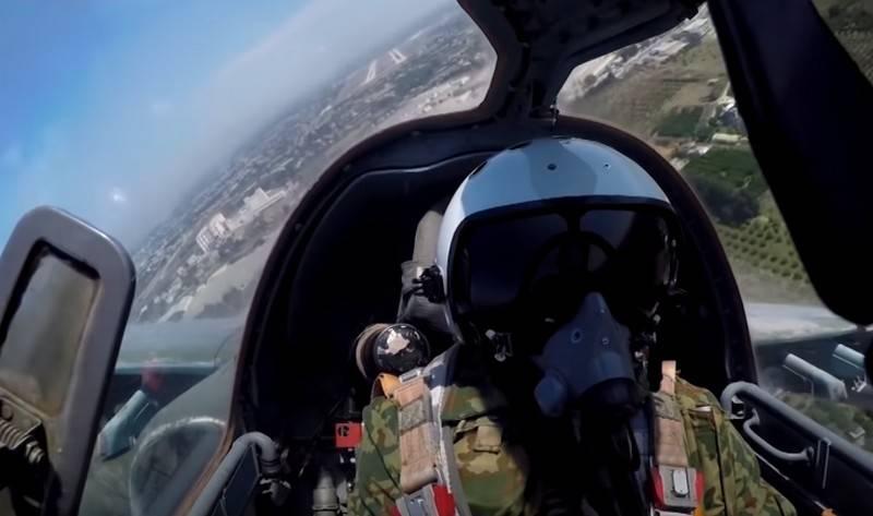 La red tiene un video de disparos de aviones de ataque Su-25SM3