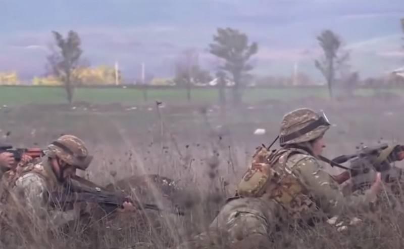 Der bewaffnete Konflikt zwischen Armenien und Aserbaidschan ging weiter