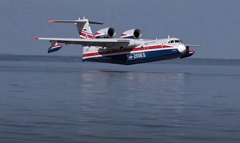 Russian naval aviation will be replenished with three Be-200 amphibious aircraft