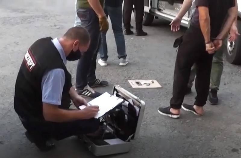 ロストフ地方で拘束されたテロ攻撃を準備している「IG」の支持者