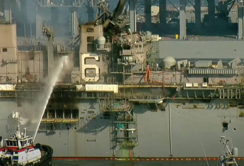 """""""这是军舰最差的手表"""":美国海军陆战队理查德号火伤显示"""