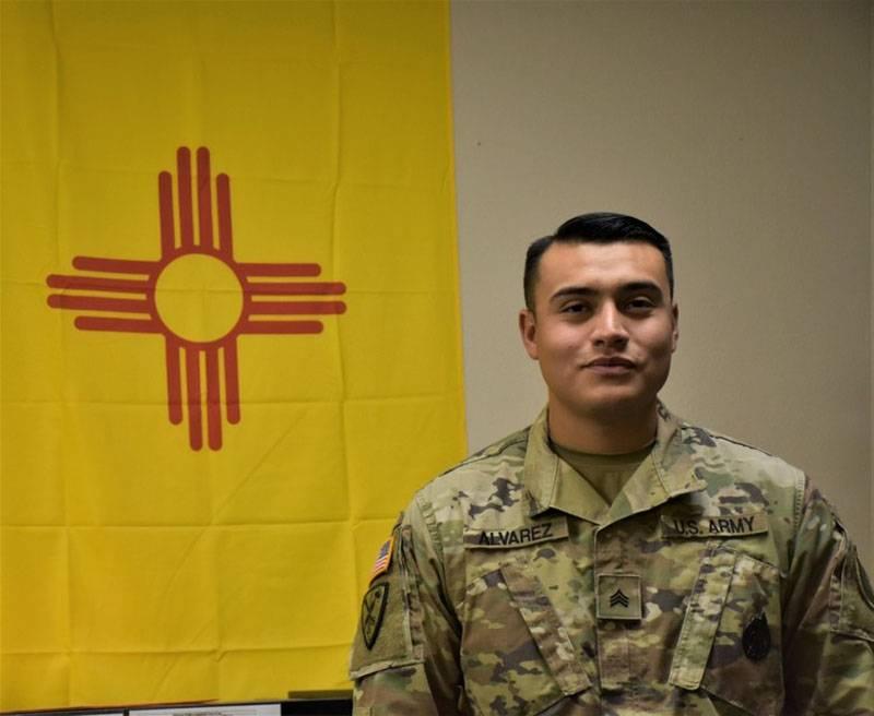 Características do uniforme de um soldado do Exército dos EUA