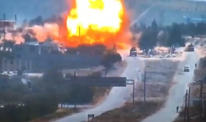 시리아에서 순찰대 폭파로 RF 군 XNUMX 명이 부상을 당했다
