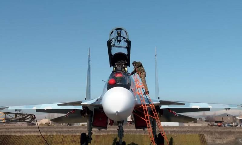 Armenian Ministry of Defense refutes the direction of the Su-30SM to the border with Azerbaijan