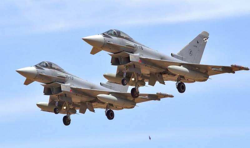 Espanha decidiu comprar caças Eurofighter