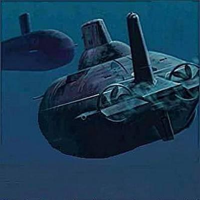 An der Spitze der Unterwasser-Konfrontation. U-Boot des Kalten Krieges