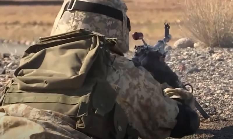 Azerbaycan Savunma Bakanlığı Ermeni askeri tesisinin yıkıldığını duyurdu