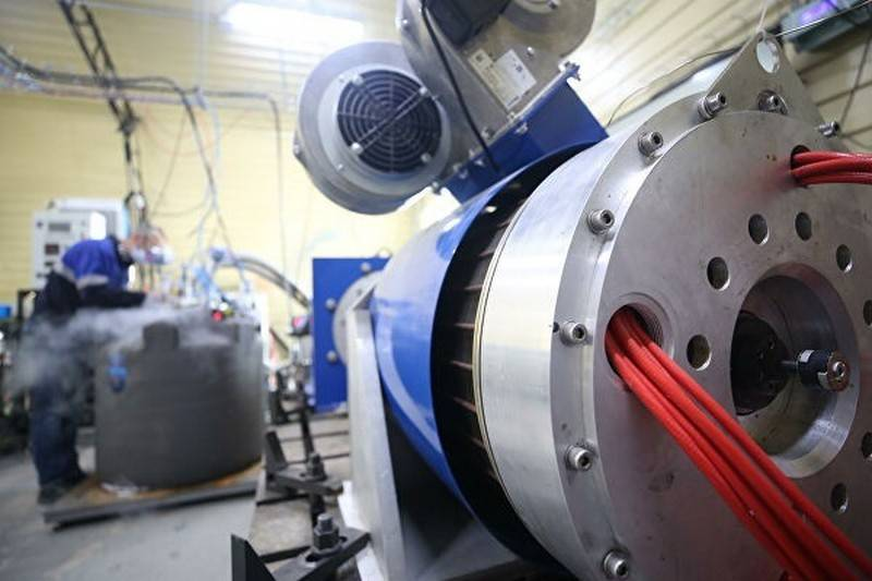 Russia has created a motor based on superconductivity