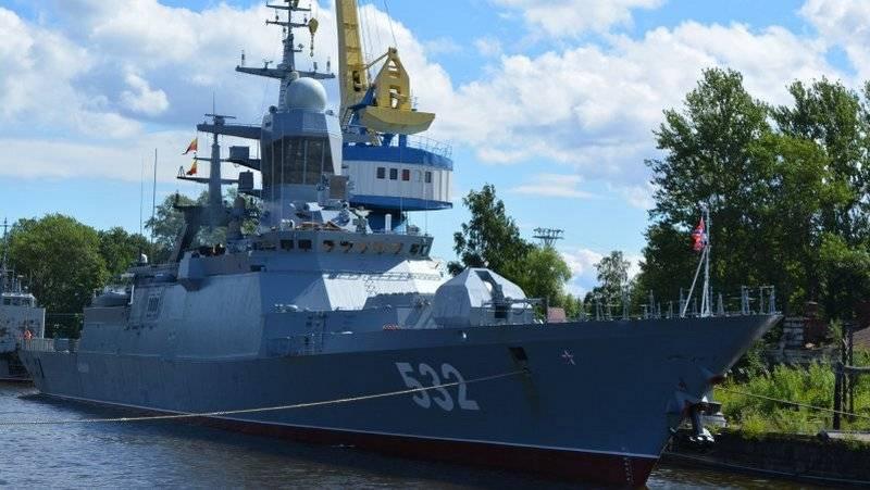 En el muelle de Kronstadt se completó la reparación de la corbeta Boyky de la Flota Báltica