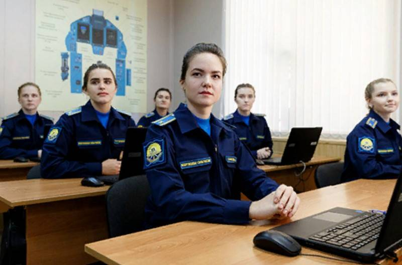 The Ministry of Defense called the military universities in which girls can enter