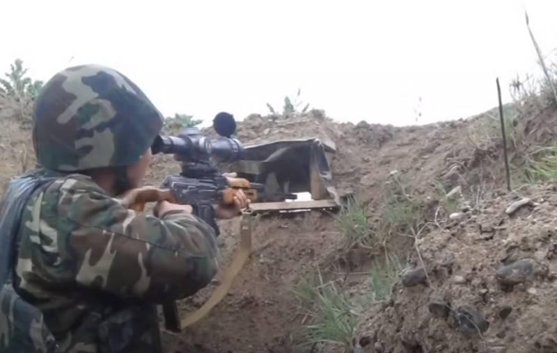 An der Grenze zwischen Armenien und Aserbaidschan wurden die Kämpfe wieder aufgenommen