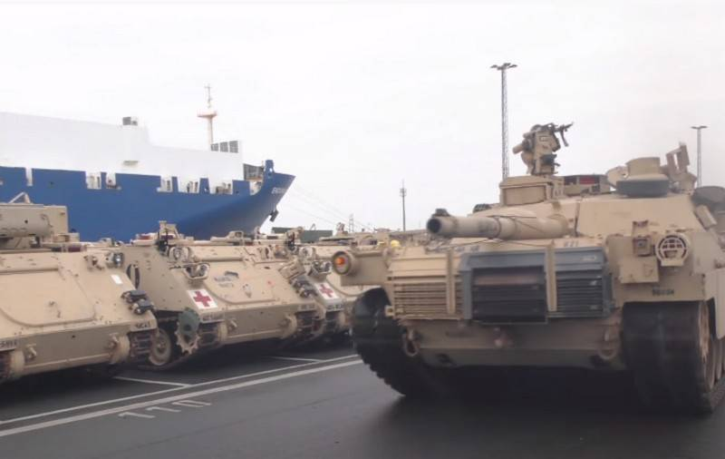 US begins troop transfer to Poland as part of exercise